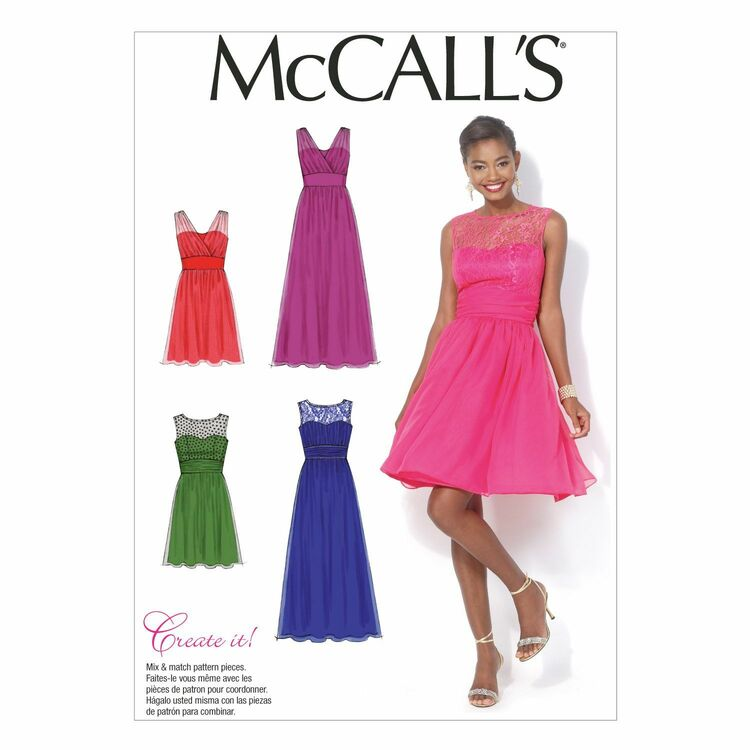 McCalls Pattern M40 From £4040 Gorgeous Mccalls Pattern