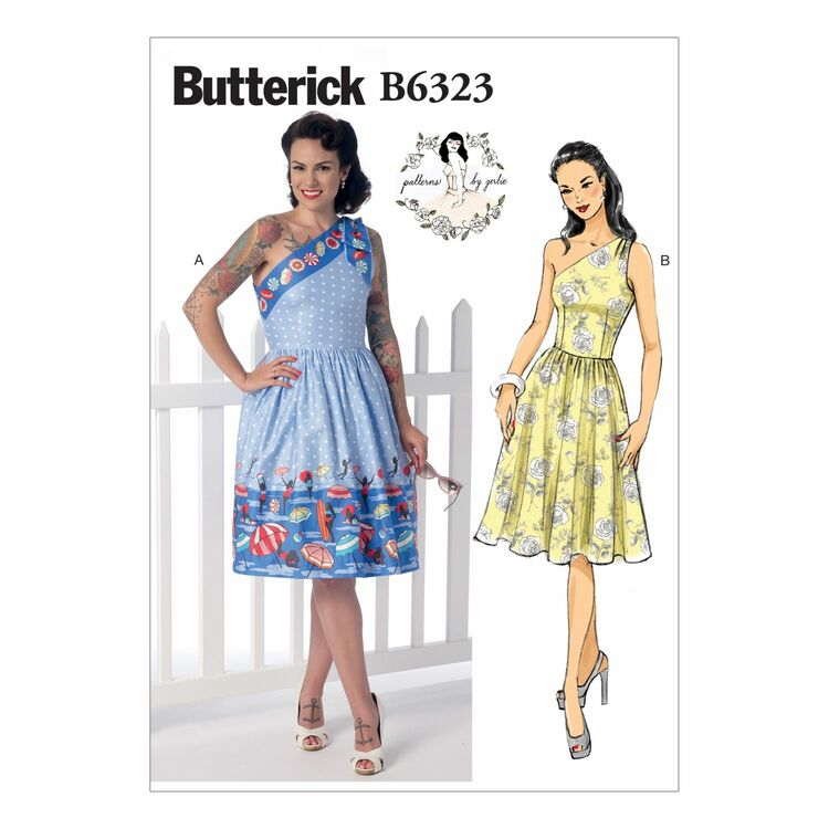 Butterick Sewing Pattern B6323 (Misses Dress) from £9.50