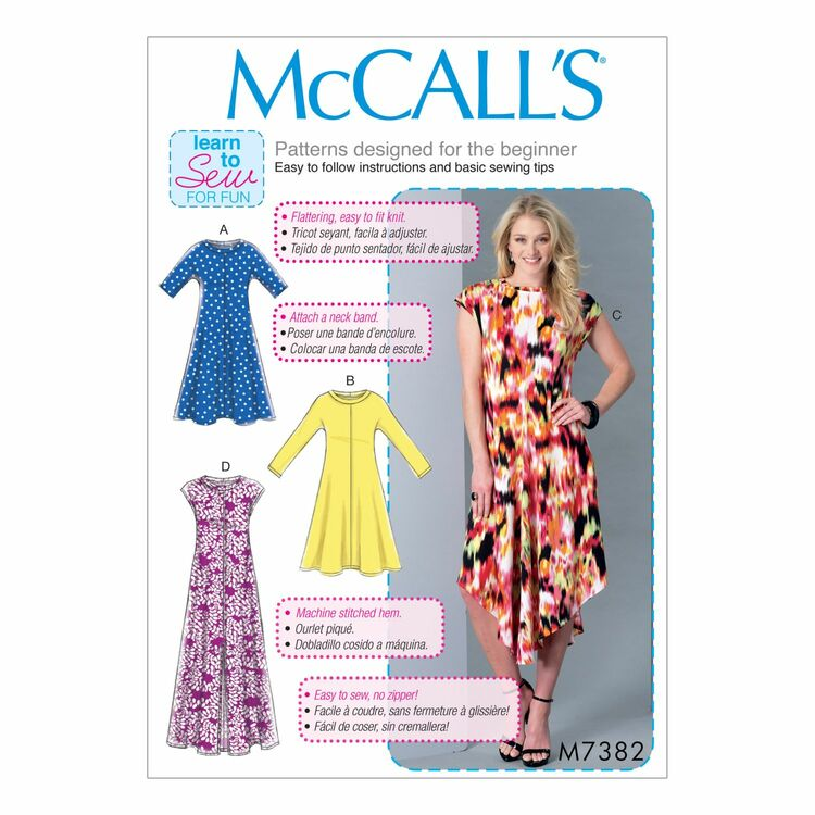Mccalls Pattern M7382 From 925
