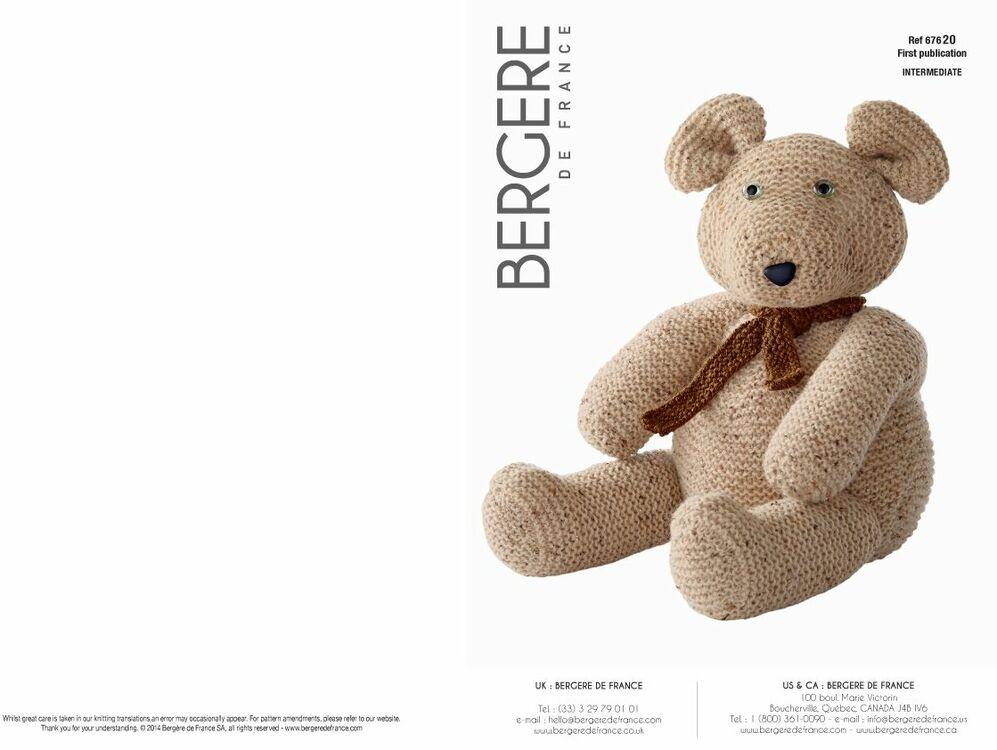Cat. 15/16 - #202 Cuddly teddy bear only £3.00