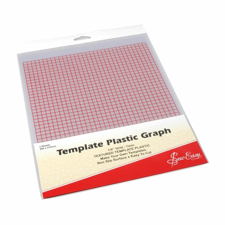 Sew Easy Template Plastic Graph (Printed) only £4.05