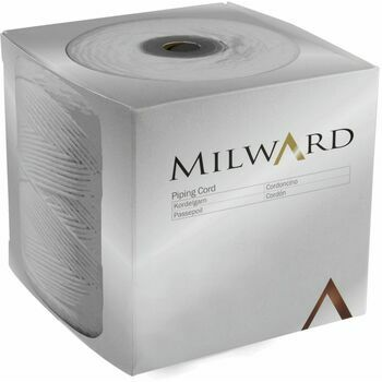 Milward Piping Cord: Bleached Cotton: 4mm (Size 3): Per Metre