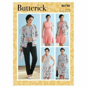Butterick Pattern B6738 Misses Jacket