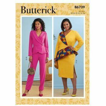 Butterick Pattern B6739 Jacket, Skirt & Trousers