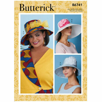 Butterick Pattern B6741 Misses Hat