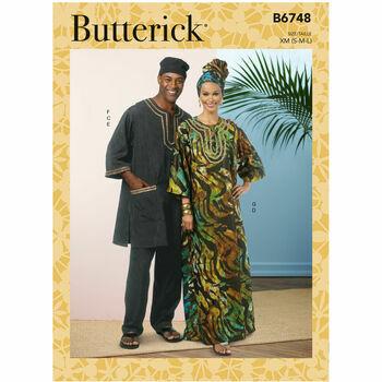 Butterick Pattern B6748 Tunic Outfit