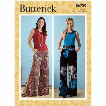 Butterick Pattern B6750 Shorts and Pants