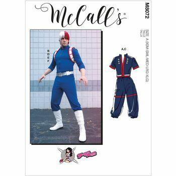 McCall's Pattern M8072 Unisex Costume