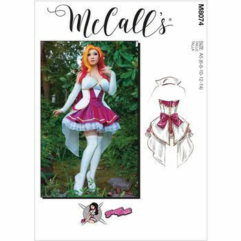 McCall's Pattern M8074 Misses Costume