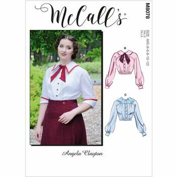 McCall\'s Pattern M8078 Misses Historical Blouse