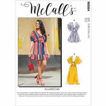 McCall\'s Pattern M8084 Misses Dresses