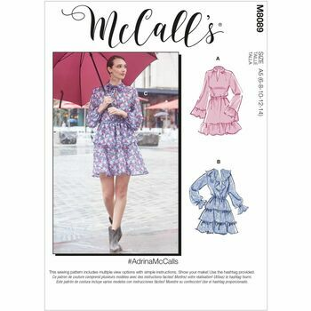 McCall\'s Pattern M8089 Misses Dresses