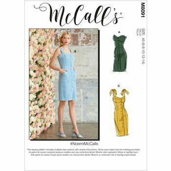 McCall's Pattern M8091 Misses Dresses