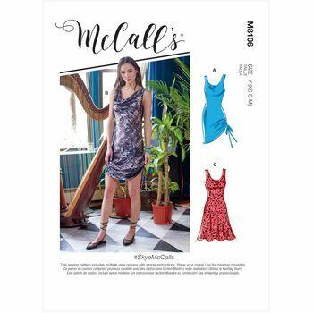 McCall's Pattern M8106 Misses Dresses