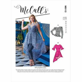 McCall's Pattern M8113 Misses & Women's Tops