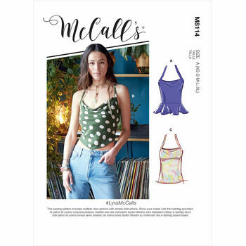 McCall's Pattern M8114 Misses Tops