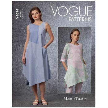 Vogue Pattern V1694 Misses Tunic & Dress