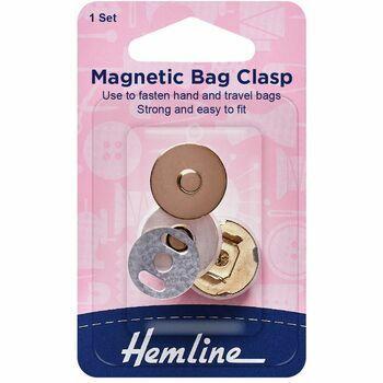 Hemline Magnetic Bag Clasp (18mm)