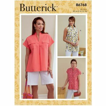 Butterick Pattern B6768 Misses Top