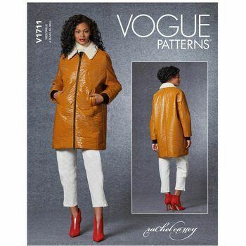 Vogue Pattern V1711 Women's Jacket