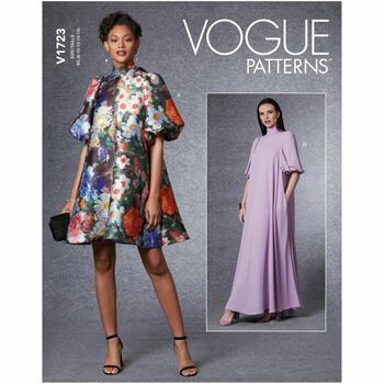 Vogue Pattern V1723 Special Occasion Dress