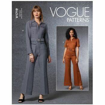 Vogue Pattern V1719 Women's Jumpsuit