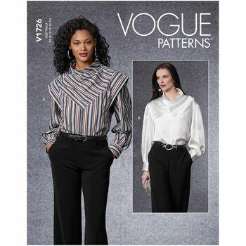 Vogue Pattern V1726 Pullover Top