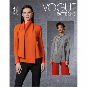 Vogue Pattern V1727 Women's Blouse