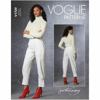 Vogue Pattern V1729 Women\'s Pants