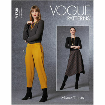 Vogue Pattern V1730 Women\'s Skirt & Pants