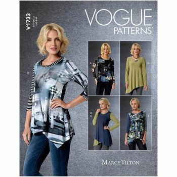 Vogue Pattern V1733 Pullover Top