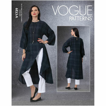 Vogue Pattern V1739 Tunic and Pants