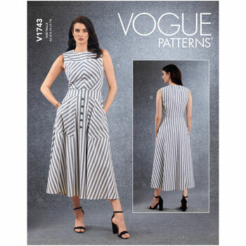 Vogue Pattern V1743 Dress