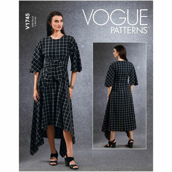 Vogue Pattern V1745 Tunic, Dress & Pants