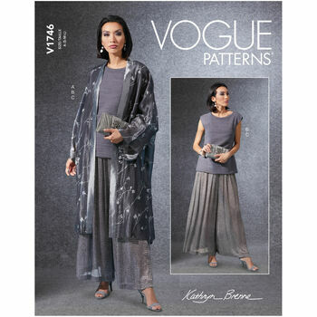 Vogue Pattern V1746 Kimono, Top & Pants