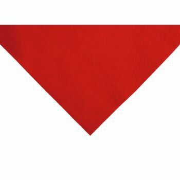 Trimits Acrylic Felt - Red (90cm): Per Metre