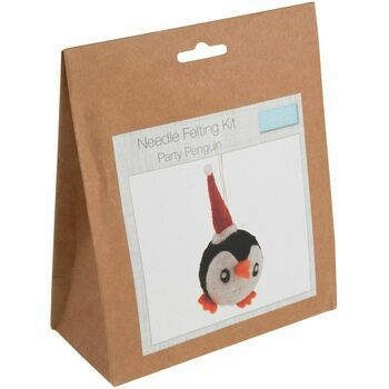 Trimits Party Penguin Needle Felt Decoration Kit