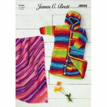 James C. Brett Pattern Party Time Chunky JB692
