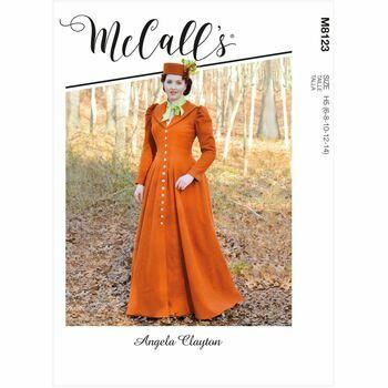 McCalls Pattern M8123 Misses Coat