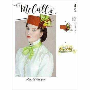 McCalls Pattern M8124 Misses Hat