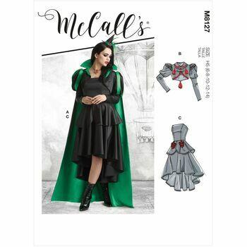 McCalls Pattern M8127 Misses Costume