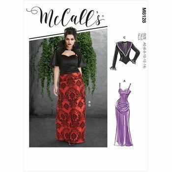 McCalls Pattern M8128 Misses Costumes