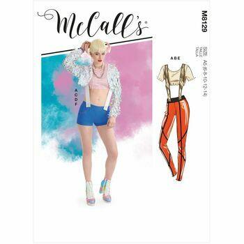 McCalls Pattern M8129 Misses Costumes