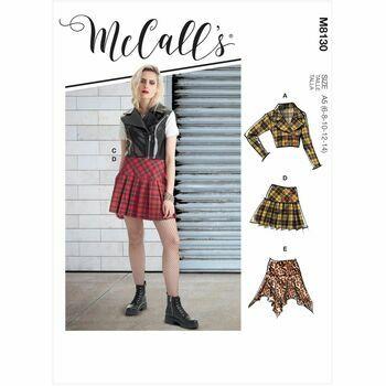 McCalls Pattern M8130 Misses Costumes