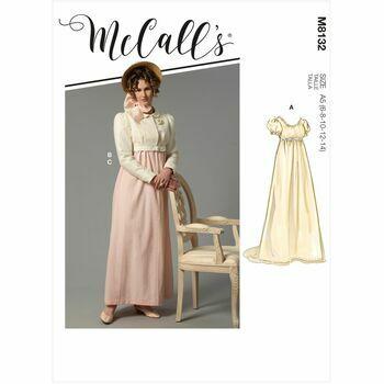 McCalls Pattern M8132 Misses Costume