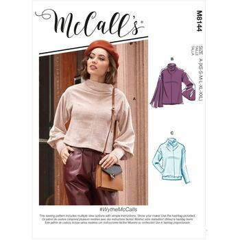 McCalls Pattern M8144 Misses Tops