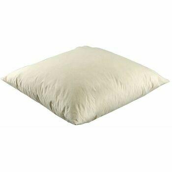 "Hallis Superfill Square Feather Cushion Pad - 22""x 22"" (1250g)"