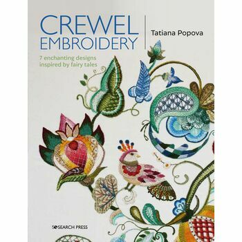 Crewel Embroidery Fairy Tale Designs