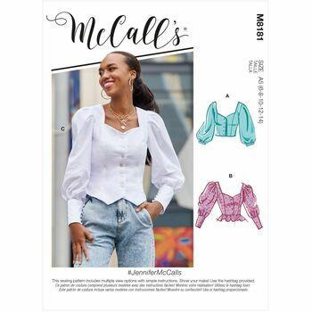 McCalls pattern M8181