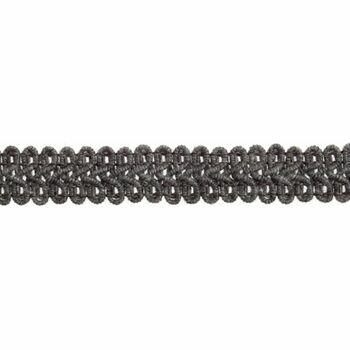 Essential Trimmings Gimp Braid Trim - 15mm (Grey) Per Metre